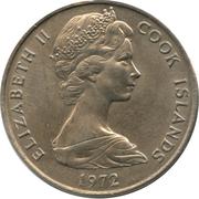 20 cents - Elizabeth II (2e effigie) – avers