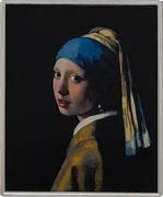 1⁄4 Dollar - Elizabeth II (Girl with a Pearl Earring) – revers