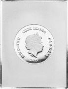 1⁄4 Dollar - Elizabeth II (Sistine Madonna) – avers