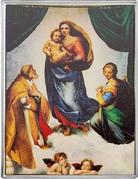 1⁄4 Dollar - Elizabeth II (Sistine Madonna) – revers