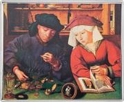 1⁄4 Dollar - Elizabeth II (The Moneylender and his Wife) – revers
