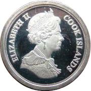 4 pence Elizabeth II Maundy money – avers