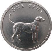1 cent - Elizabeth II (4e effigie ; Pointer) – revers