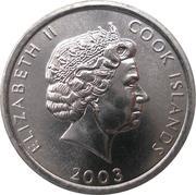1 cent - Elizabeth II (4e effigie ; le singe) – avers