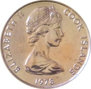 1 cent - Elizabeth II (2e effigie ; James Cook) – avers
