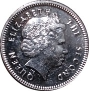 10 pence - Elizabeth II (4eme effigie, magnétique) – avers