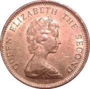 1 penny - Elizabeth II (2eme effigie) – avers