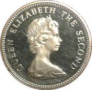 5 pence - Elizabeth II (2eme effigie; grand module) – avers