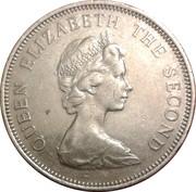10 pence - Elizabeth II (2eme effigie - type large) – avers