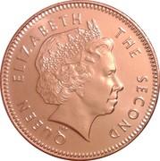 2 pence - Elizabeth II (4eme effigie) – avers