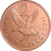 2 pence - Elizabeth II (4eme effigie) – revers