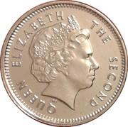 5 pence - Elizabeth II (4eme effigie) – avers