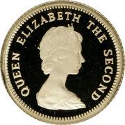 1/2 Pound - Elizabeth II – avers
