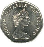 20 pence - Elizabeth II (2eme effigie) – avers