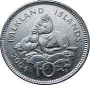 10 pence - Elizabeth II (4eme effigie) – revers
