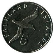 5 Pence. – revers