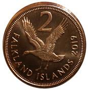 2 pence - Elizabeth II (5e effigie) – revers