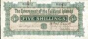 5 Shillings -  avers