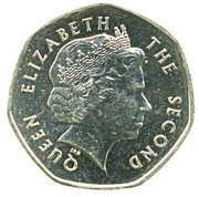 20 pence - Elizabeth II (4eme effigie) – avers