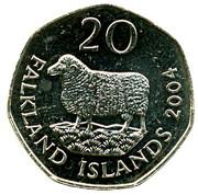 20 pence - Elizabeth II (4eme effigie) – revers
