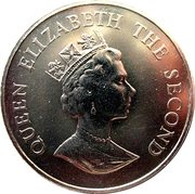 50 Pence - Elizabeth II (Children's Fund) -  avers