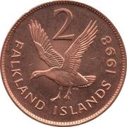 2 pence - Elizabeth II (2eme effigie) – revers