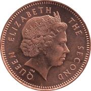 1 penny - Elizabeth II (4eme effigie) – avers