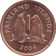 1 penny - Elizabeth II (4eme effigie) – revers