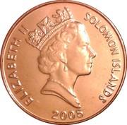 2 Cents - Elizabeth II (3ème effigie ; magnétique) – avers
