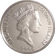 5 cents - Elizabeth II (3ème effigie) – avers