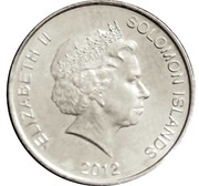 20 cents - Elizabeth II (4° effigie) – avers
