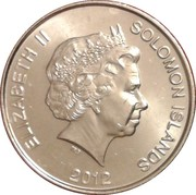10 cents - Elizabeth II (4ème effigie) – avers