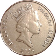 20 cents - Elizabeth II (3ème effigie) – avers