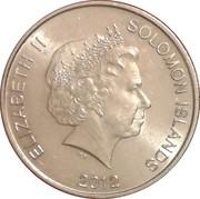 20 cents - Elizabeth II (4ème effigie) – avers