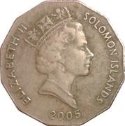 50 cents - Elizabeth II (3ème effigie ; non-magnétique) – avers