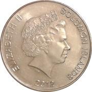 50 cents - Elizabeth II (4ème effigie) – avers