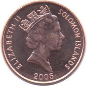 1 Cent - Elizabeth II (3ème effigie) – avers