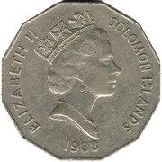 50 cents (indépendance) – avers