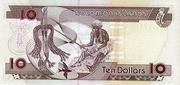 10 Dollar 1997 – revers