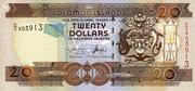 20 Dollar 1997 – avers