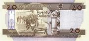 20 Dollar 1997 – revers