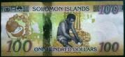 Solomon Islands 100 Dollars 2015 – revers