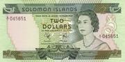 Solomon Islands $2 – avers