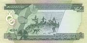 Solomon Islands $2 – revers