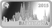½ Dollar - Elizabeth II (Barcelona) – revers