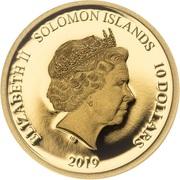 10 Dollars - Elizabeth II (Golden Globe Awards) -  avers