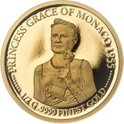 10 Dollars - Elizabeth II (Golden Globe Awards) -  revers