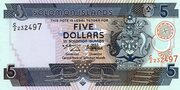 5 Dollars 1997 – avers