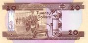 20 Dollars – revers