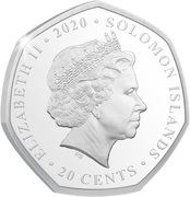 20 Cents - Elizabeth II (Remembrance Day) – avers